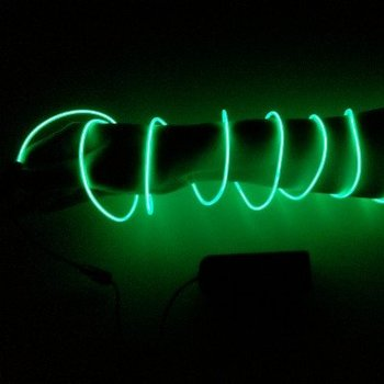 EL Wire 2 meter Green