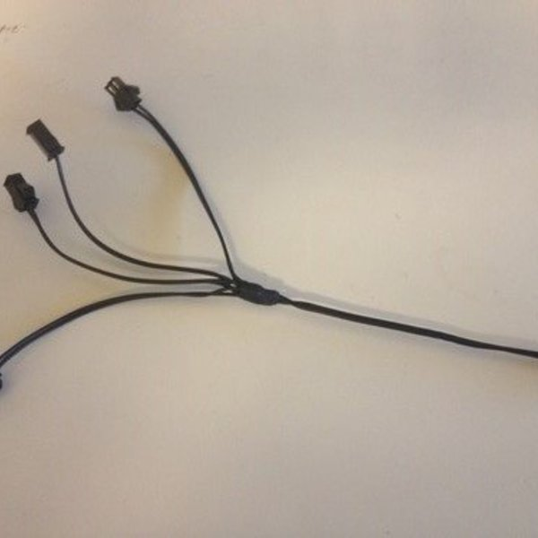 EL Wire Splitter 4 ways (Bulk)