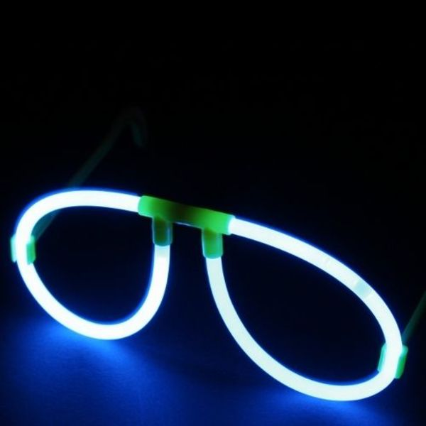 Glow Glasses Connectors Yellow (Bulk)