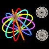 GlowFactory Glow Stick Ball Connectors / Glow Orb Connector (Bulk)