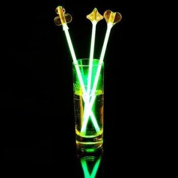 GlowFactory Glow Cocktail Stirrer - 4 pack
