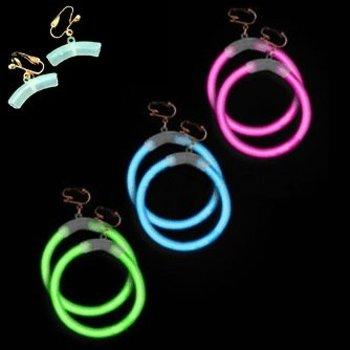 GlowFactory Knicklicht Ohrringe