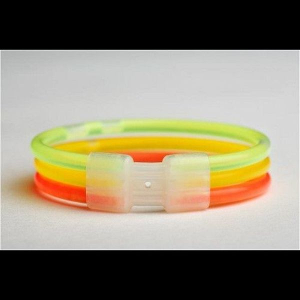 Triple Glow Bracelet Connector (Bulk)