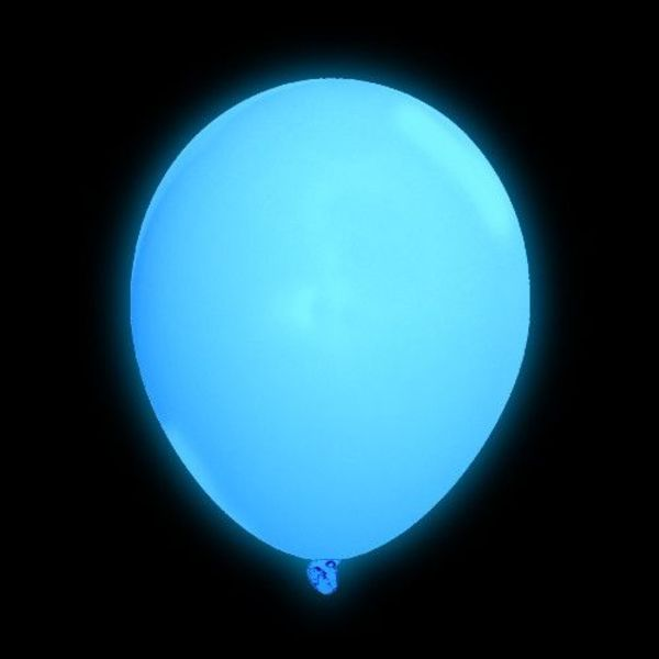 Light Up Balloon Blue (Bulk)