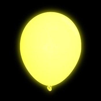 GlowFactory LED Luftballons Gelb