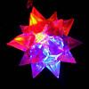 GlowFactory Light Up Jelly Star Necklace (Star)