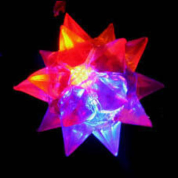 Light Up Jelly Star Necklace