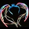 GlowFactory Haarband met licht - Crazy Hair