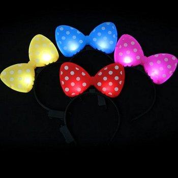 GlowFactory Diadeem met licht - Funny - Gemixte kleuren
