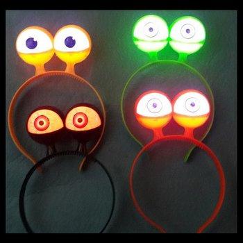 GlowFactory LED Diadeem met ogen