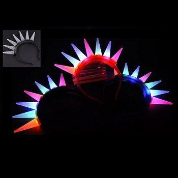 GlowFactory Light Up Punk Hair / Flashing Punk Hair