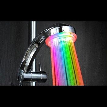 GlowFactory LED Shower Hat Multi Colour