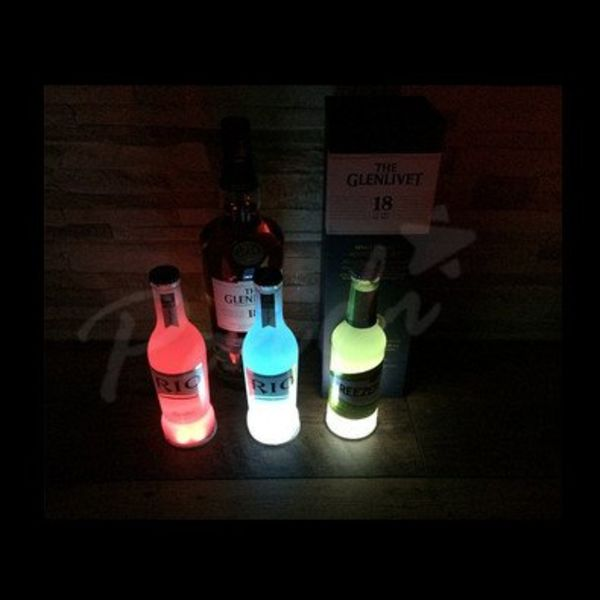 Light Up Bottle Coaster / LED Bottle coaster (Bulk)