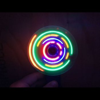 GlowFactory Light Up Fan / LED Fan Multi Colour