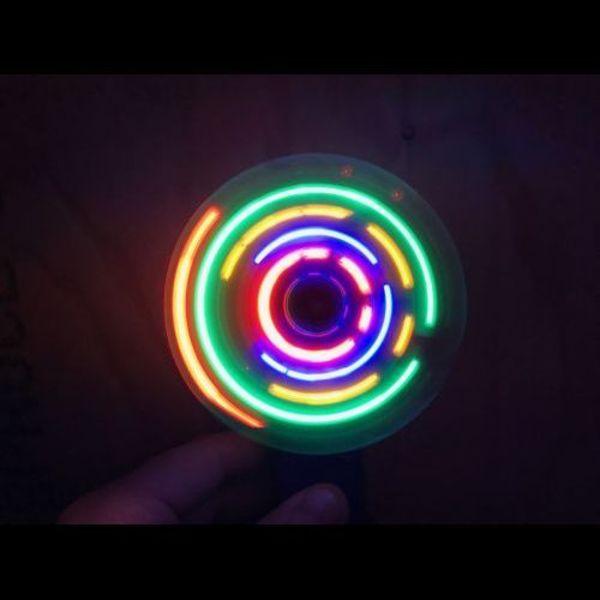 Light Up Fan / LED Fan Multi Colour (Bulk)