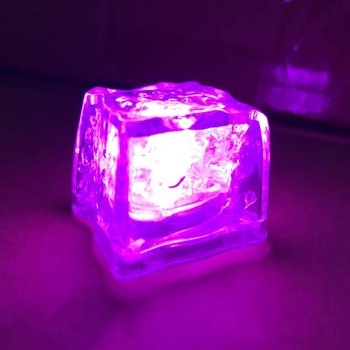 GlowFactory Light Up Ice Cubes Pink