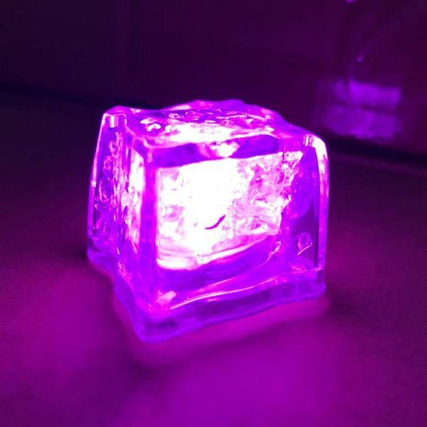 Leuchtende Eiswürfel pink (bulk)