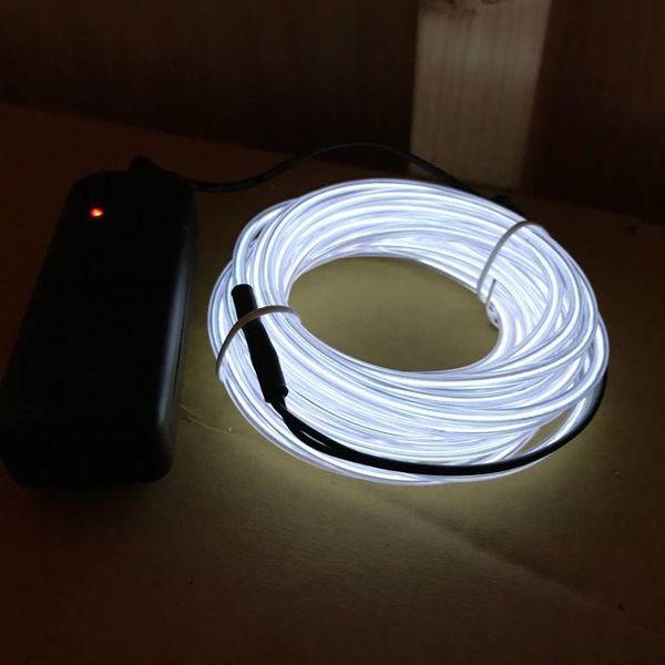 EL-Wire 5 Meter weiß (Bulk)