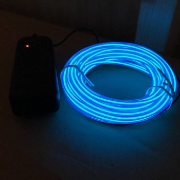EL Wire 5 meter Blue