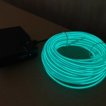 EL Wire 10 meter Green