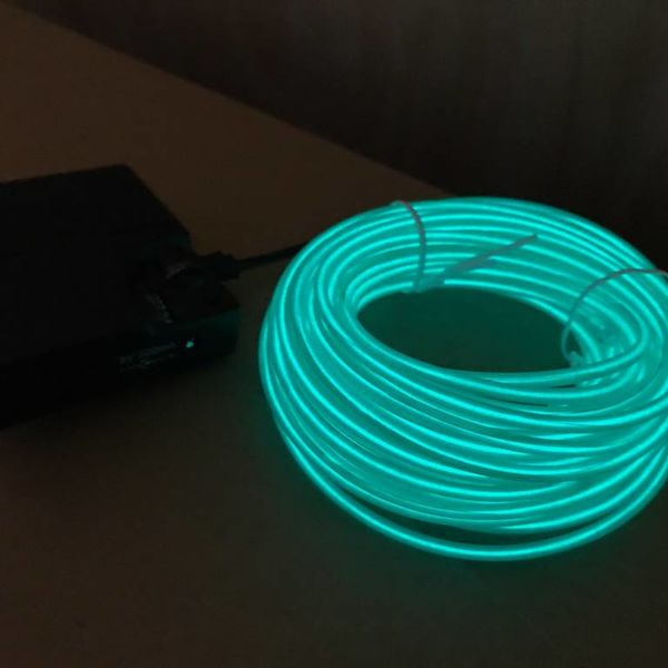 EL Wire 10 meter Green (Bulk)