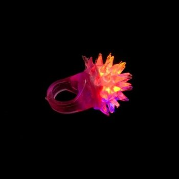 GlowFactory Light Up Ring / Flashing Jelly Ring