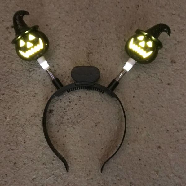Light Up Halloween Headband (Bulk)