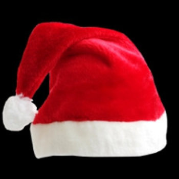 Günstige Filz-Nikolausmütze / Preisgünstige Weihnachtsmütze aus Filz