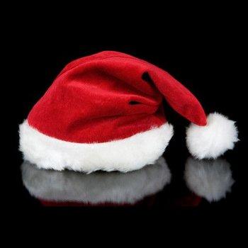 GlowFactory Nikolausmütze Deluxe / Luxus-Weihnachtsmütze