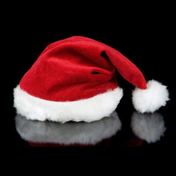 Deluxe Santa Hat / Luxury Christmas hat (Bulk)