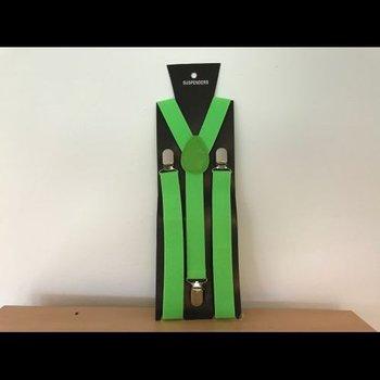 GlowFactory Neon Bretels - Groen