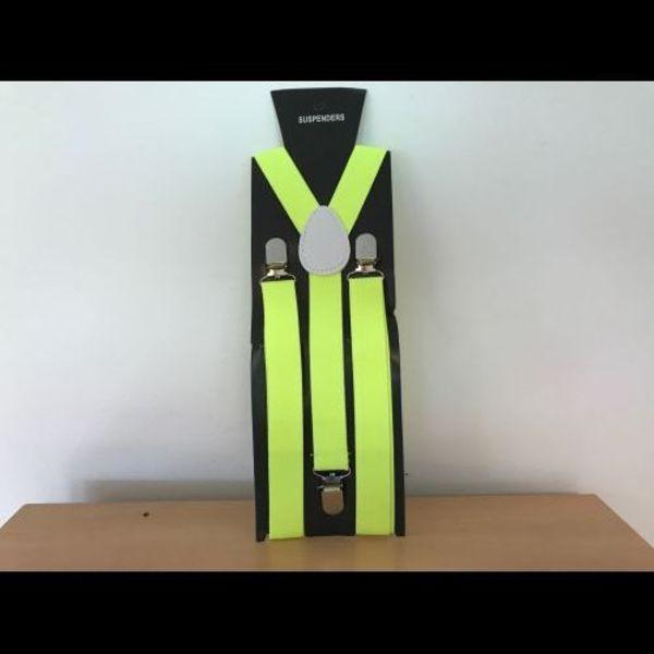 UV-Neon-Hosenträger gelb (bulk)