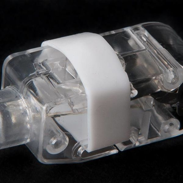 Fingerlicht weiß / weißes LED-Fingerlicht (bulk)