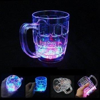 GlowFactory Bierglas met licht