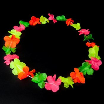 Garland / Hawaiian Lei Multi-Coloured (UV)