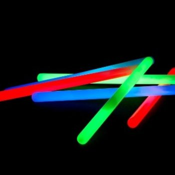 GlowFactory Glowsticks 25 cm - Gemixte kleuren