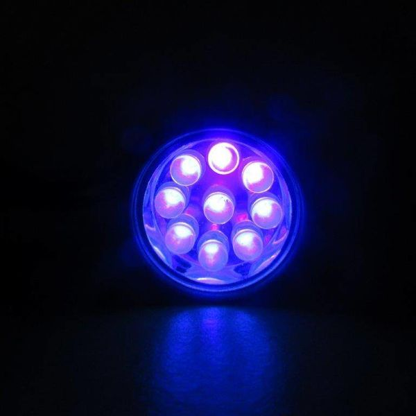 UV Flashlight 9 LEDS