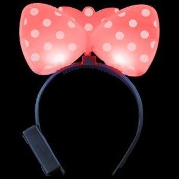 GlowFactory Light Up Funny Ears / LED Funny Ears Red