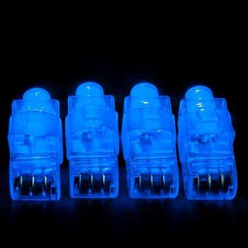 GlowFactory Fingerlicht blau / blaues LED-Fingerlicht