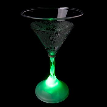 Light Up Martini Glass