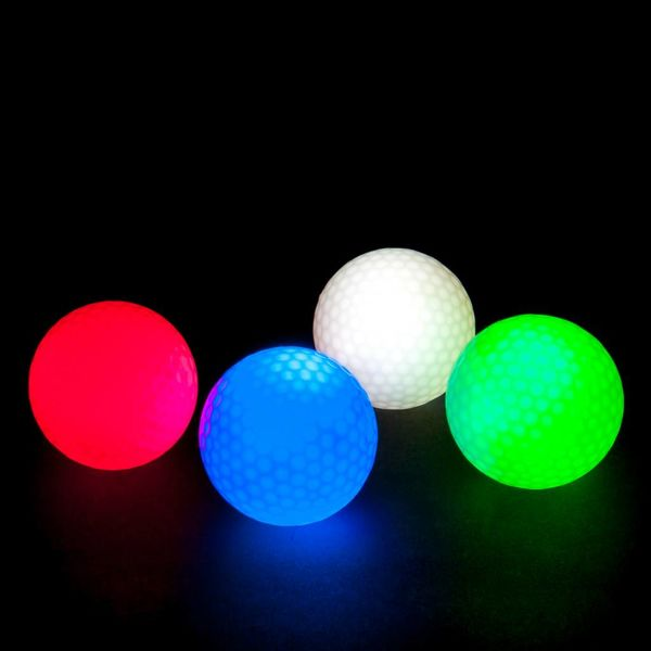 Light Up Golf Ball Green / Bulk