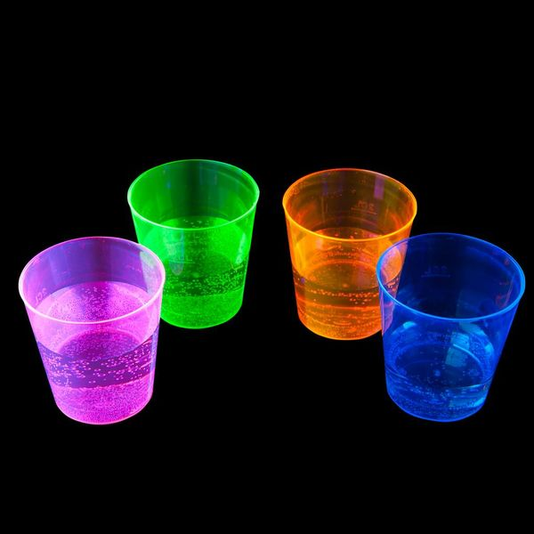 Neon Shot Cups (Bulk)