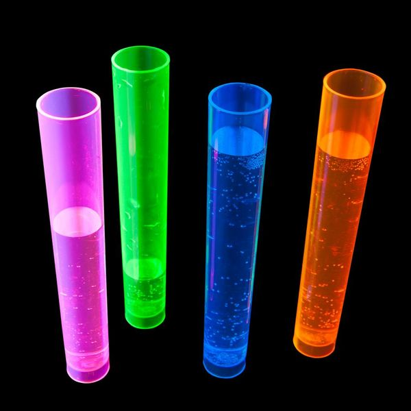 Plastic Neon Test Tubes