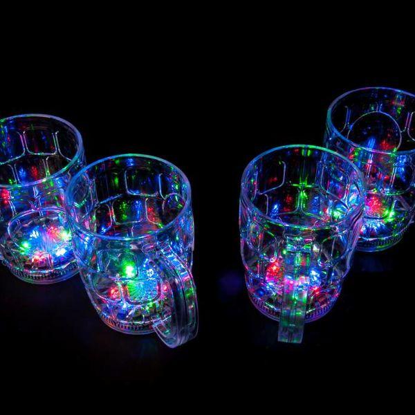 LED Beer Cups 500ml (Bulk)