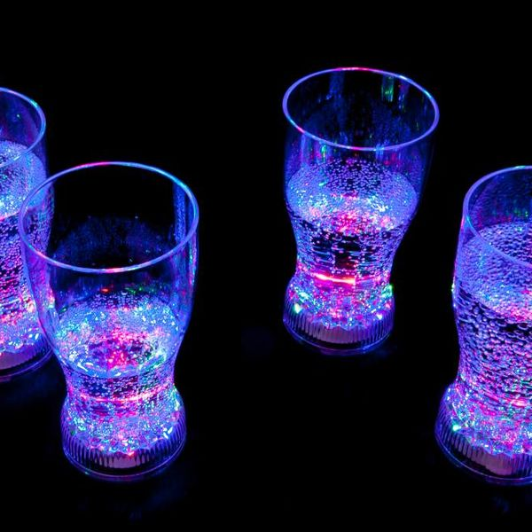 Light Up Coke Glass (Wholesale)