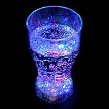 GlowFactory Light Up Coke Glass