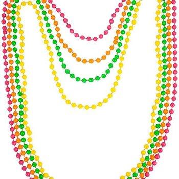GlowFactory Bead Necklaces (4 pieces set)