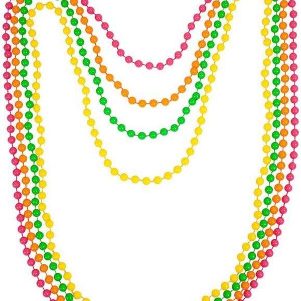 Bead Necklaces (4 pieces set)