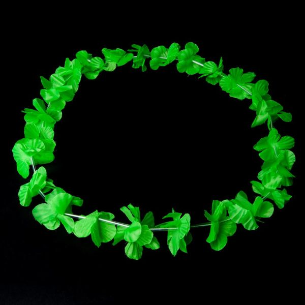 Garland / Hawaiian Lei Green UV (bulk)