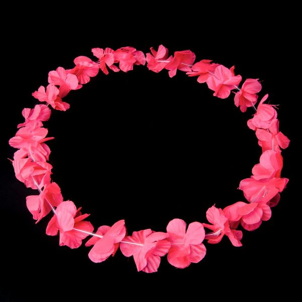 Garland / Hawaiian Lei Pink UV (bulk)